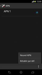 Sony Xperia V - Internet et roaming de données - Configuration manuelle - Étape 10