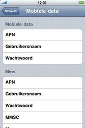 Apple iPhone 4 - Internet - Handmatig instellen - Stap 6
