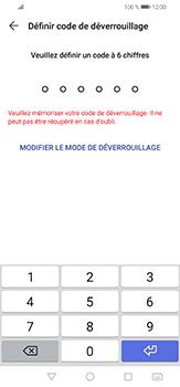 Huawei P30 lite - Sécuriser votre mobile - Activer le code de verrouillage - Étape 6