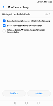 Huawei Mate 10 Lite - E-Mail - Konto einrichten (outlook) - 8 / 11