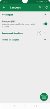 Huawei P30 - Prise en main - Comment ajouter une langue de clavier - Étape 8