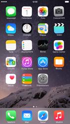 Apple iPhone 6 Plus - iOS 8 - Operazioni iniziali - Personalizzazione della schermata iniziale - Fase 8