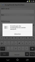 Sony Xperia Z1 - E-Mail - Konto einrichten - Schritt 16