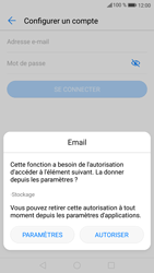 Huawei P9 Lite - Android Nougat - E-mail - Configuration manuelle - Étape 7