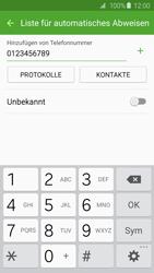 Samsung G925F Galaxy S6 Edge - Anrufe - Anrufe blockieren - Schritt 10