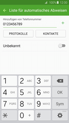 Samsung Galaxy S6 - Anrufe - Anrufe blockieren - 10 / 12