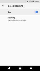 Sony Xperia XA2 - Ausland - Auslandskosten vermeiden - Schritt 9