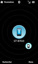Samsung B7610 Omnia Qwerty - Bluetooth - connexion Bluetooth - Étape 12