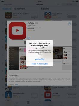Apple iPad mini met iOS 9 (Model A1455) - Applicaties - Account aanmaken - Stap 25