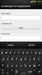 HTC One - E-Mail - Konto einrichten - Schritt 13