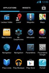 Bouygues Telecom Bs 351 - Internet et connexion - Accéder au réseau Wi-Fi - Étape 3
