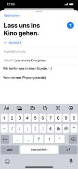Apple iPhone 11 - E-Mail - E-Mail versenden - Schritt 8