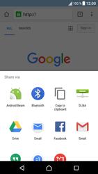 Sony Xperia XA - Internet and data roaming - Using the Internet - Step 22