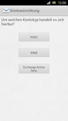 Sony Xperia U - E-Mail - Manuelle Konfiguration - Schritt 6
