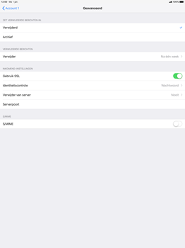 Apple ipad-pro-12-9-2nd-generation-ios-12 - E-mail - Account instellen (POP3 zonder SMTP-verificatie) - Stap 22