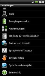 HTC A9191 Desire HD - Fehlerbehebung - Handy zurücksetzen - Schritt 6