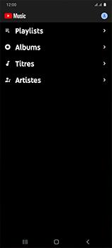 Samsung Galaxy A41 - Photos, vidéos, musique - Ecouter de la musique - Étape 5