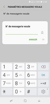 Samsung Galaxy A8 (2018) - Messagerie vocale - Configuration manuelle - Étape 10