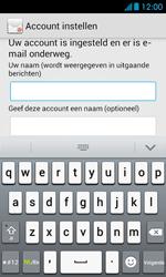 Huawei Ascend Y300 - E-mail - Account instellen (POP3 zonder SMTP-verificatie) - Stap 18