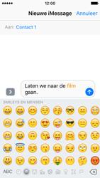 Apple iPhone SE - iOS 10 - iOS features - Stuur een iMessage - Stap 13