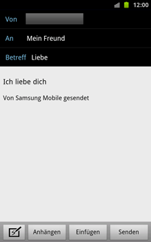Samsung Galaxy Note - E-Mail - E-Mail versenden - 9 / 15