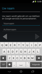 Sony Xperia M2 - apps - account instellen - stap 5