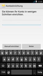 Wiko jimmy - E-Mail - Manuelle Konfiguration - Schritt 10