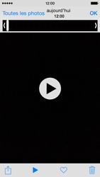 Apple iPhone 5 (iOS 8) - Photos, vidéos, musique - Créer une vidéo - Étape 8
