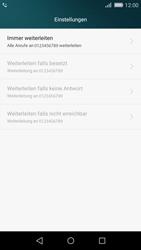 Huawei P8 Lite - Anrufe - Rufumleitungen setzen und löschen - 8 / 9