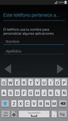 Samsung G850F Galaxy Alpha - Primeros pasos - Activar el equipo - Paso 11
