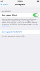 Apple iPhone 7 - iOS 12 - Données - Créer une sauvegarde avec votre compte - Étape 12