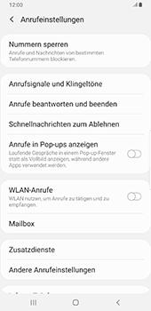 Samsung Galaxy S9 Plus - Android Pie - Anrufe - Rufumleitungen setzen und löschen - Schritt 6
