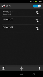 Sony Xperia V - WiFi - WiFi configuration - Step 8