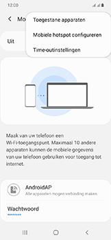Samsung Galaxy A20e - Internet - mijn data verbinding delen - Stap 8