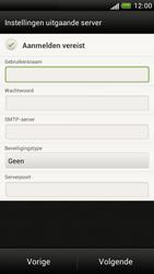 HTC Z520e One S - e-mail - handmatig instellen - stap 12