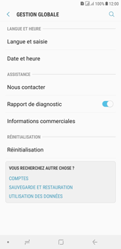 Samsung Galaxy J4+ - Aller plus loin - Restaurer les paramètres d'usines - Étape 5