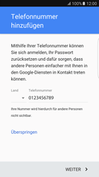 Samsung Galaxy S6 Edge - Apps - Konto anlegen und einrichten - 1 / 1