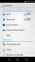 Sony D2203 Xperia E3 - WiFi - Conectarse a una red WiFi - Paso 4