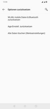 OnePlus 6T - Android Pie - Fehlerbehebung - Handy zurücksetzen - Schritt 8