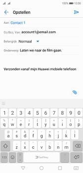 Huawei P20 - e-mail - hoe te versturen - stap 8
