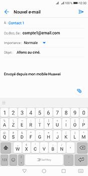 Huawei Y6 (2018) - E-mails - Envoyer un e-mail - Étape 8