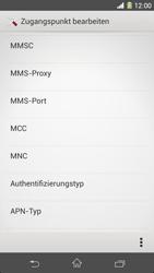 Sony Xperia Z1 - MMS - Manuelle Konfiguration - Schritt 13