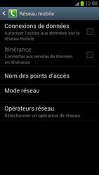 Samsung Galaxy S III LTE - Internet et roaming de données - Comment vérifier que la connexion des données est activée - Étape 6