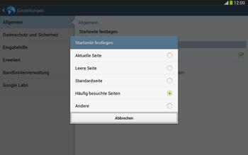 Samsung Galaxy Tab 3 10-1 LTE - Internet - Manuelle Konfiguration - 23 / 27