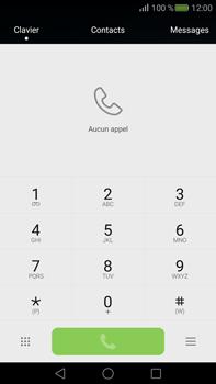 Huawei Mate S - Messagerie vocale - configuration manuelle - Étape 4
