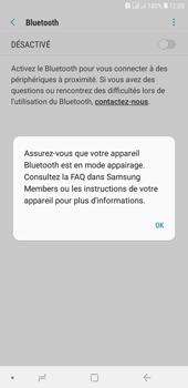 Samsung Galaxy J4+ - Internet et connexion - Connexion avec un équipement multimédia via Bluetooth - Étape 7