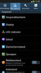 Samsung I9295 Galaxy S IV Active - Voicemail - Handmatig instellen - Stap 5