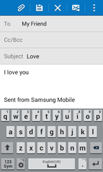 Samsung G355 Galaxy Core 2 - E-mail - Sending emails - Step 10