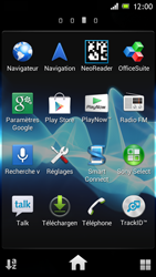 Sony Xperia J - Internet et roaming de données - Désactivation du roaming de données - Étape 3