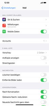 Apple iPhone XS Max - iOS 14 - E-Mail - Manuelle Konfiguration - Schritt 15